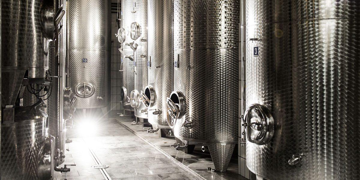 Weinkeller vom Weingut Stadler